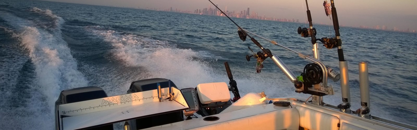 Storm warning fishing charters of chicago for Chicago fishing charters